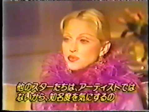 Madonna : Interview - Japanese TV - November 1992.
