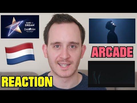 DUNCAN LAURENCE - ARCADE (REACTION)