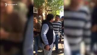 Վեճ քաղաքացիների միջև Պուշկին-Մաշտոց խաչմերուկում