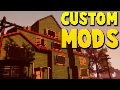 NEW MODS: PROTOTYPE ANNOUNCEMENT TRAILER HOUSE & FEAR FOREST | Hello Neighbor Mods Gameplay thumbnail