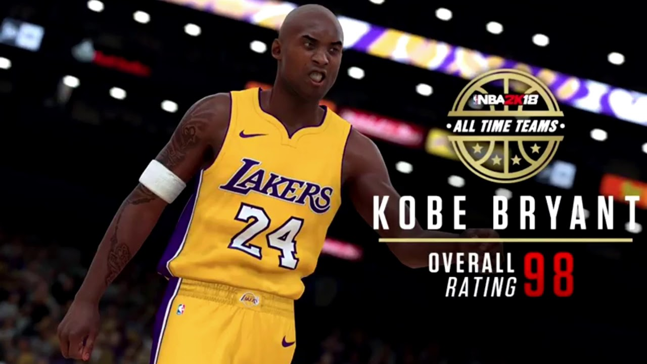 NBA 2K18 Los Angeles Lakers All Time Team Rating   Screenshot - YouTube cc26331f2