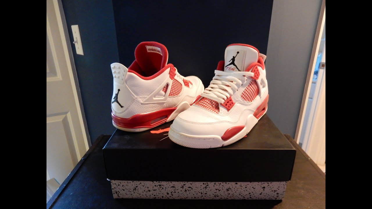 POV Air Jordan 4  Alternate 89 (2016 Release) - Brand New Kicks ... 613cf51e7