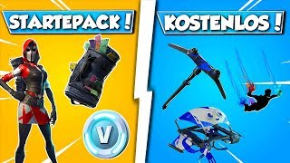 ❌FREE THINGS in FORTNITE!! 😱 NEW STARTER PACKAGE SKIN in FORTNITE!!