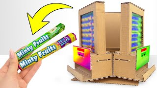 Wow! Amazing DIY Vending Machine with 3 Different Taste Mentos at Home