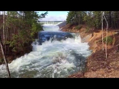 Spillway WaterFalls after Dec Rain 2015               Hot Springs Village, AR