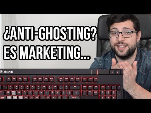 ¿Que es el Anti-ghosting? / Key Roll-Over teclado mecánico / NKRO