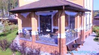 Мягкие окна для террасы(Пример выполненной работы 2014 год. Город Истра. http://conceptpvc.ru/, 2015-12-08T01:40:25.000Z)