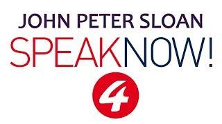 John Peter Sloan in Speak Now! 4/20