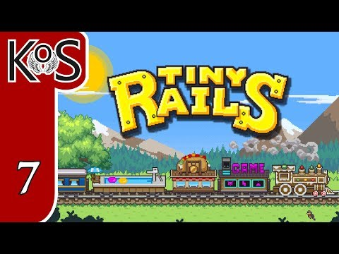 Tiny Rails Ep 7: CONFOUNDED CARGO DEPOT - Early Access - First Look - Let's Play, Gameplay