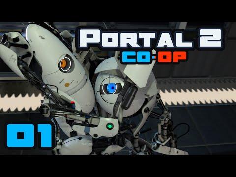 Let The Derp Begin! - Let's Play Portal 2: Coop - Part 1