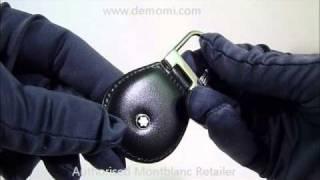 MB 14085 montblanc key fob portachiavi meisterstuck review mont blanc