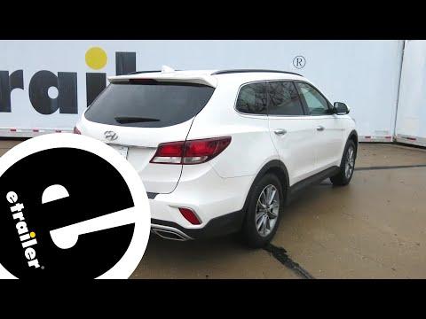 Curt Trailer Hitch Installation - 2018 Hyundai Santa Fe - Etrailer.com