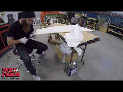 Time Lapse 3: Fabric Covering on the 2018 Super Cub Raffle Plane