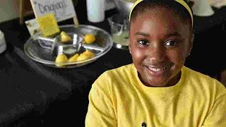 Meet Kid CEO Kinyah Bean of B Chill Lemonade at Rutherford County Hot Chicken & Art Show!