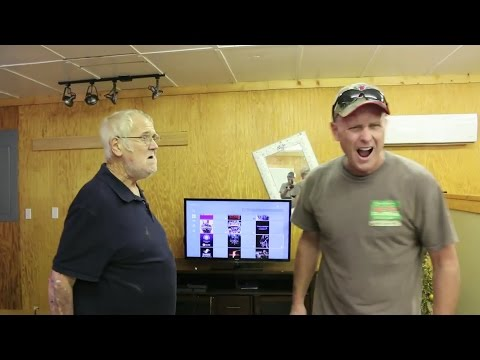 PSYCHO DAD VS ANGRY GRANDPA WITH INTENSE MUSIC!