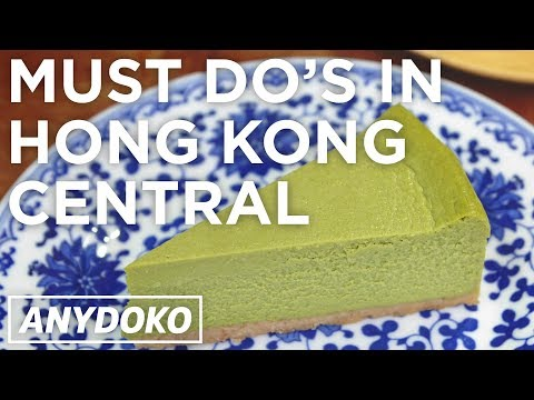 Hong Kong's Central District - Must Visit Cafés, Shops And Bars!
