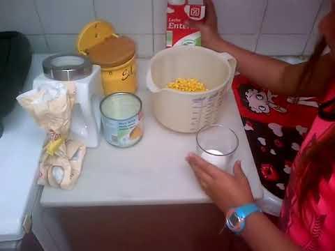 Ingredientes como preparar cachapa venezolana