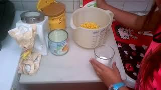 como hacer cachapa española 1)