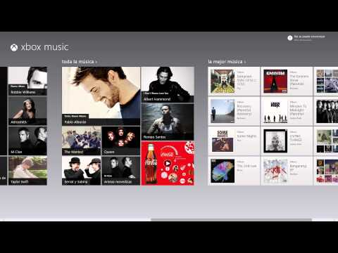 Windows 8 Español - xbox Music