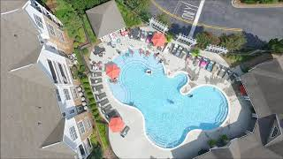 Monday Drone Series. Season Finale. Pool Party with my DJI Phantom 3 Advance.