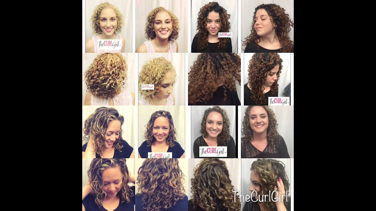 Curly Hair Cuts And Color By The Curl Girl Products By
