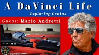 Mario Andretti - Racing legend visits A DaVinci Life