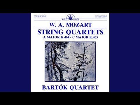 String Quartet in A Major, K.464: III. Andante (cantabile)