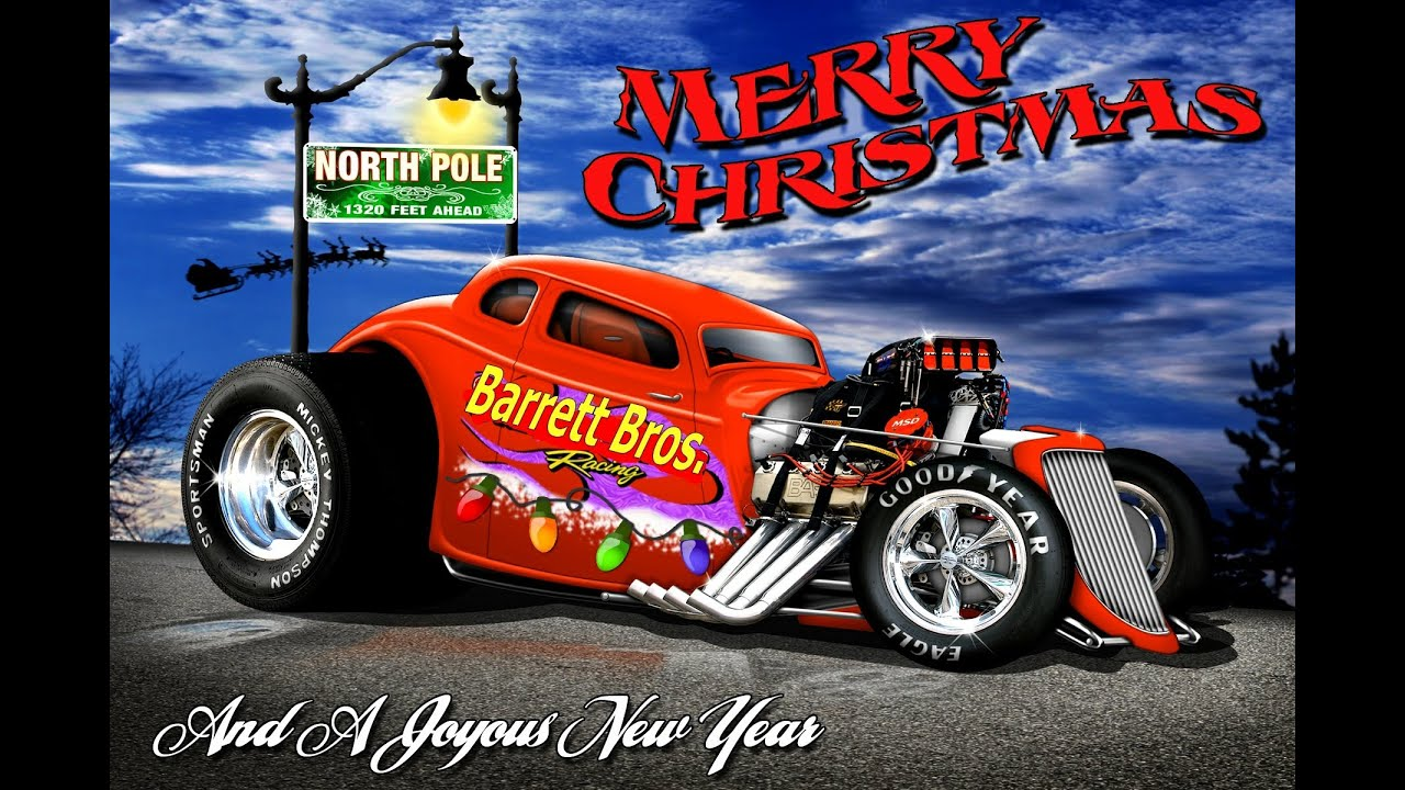 Christmas hot rods youtube m4hsunfo