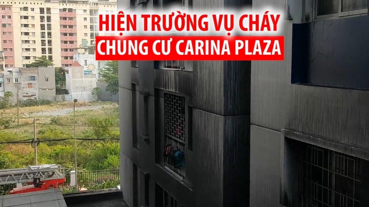 Chung cư Carina Plaza cháy khiến 13 người chết: Những tàn dư sau thảm khốc