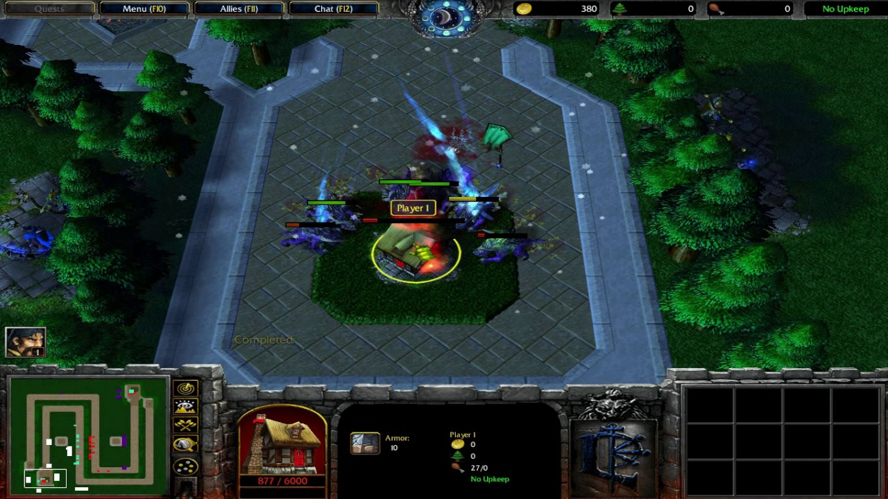 Warcraft 3: Some Tower Defence Maps