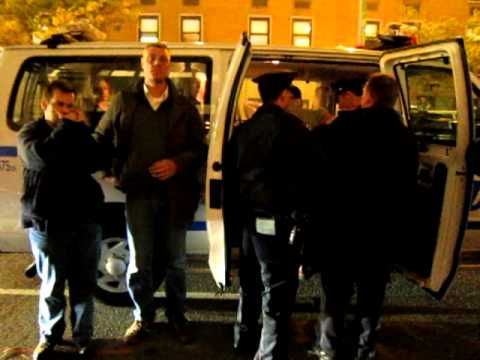 Occupy Wall Street Sotheby's arrest.MOV