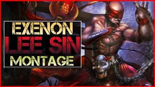 Lee Sin Montage (Exenon) - Best Lee Sin Plays | League of Legends