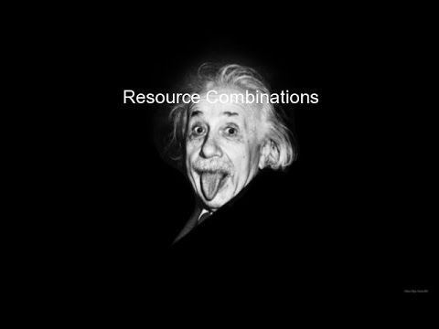Resource Combinations