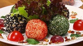 Рецепты здорового питания: готовим творожно-сырные шарики