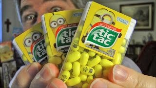 Minion Tic Tac REVIEW