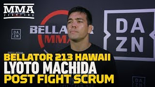 Bellator 213: Lyoto Machida Says He Felt 'Kind of Lost' Early in Promotional Debut - MMA Fighting