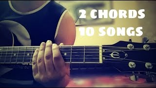 Play 10 Bollywood songs using 2 chords
