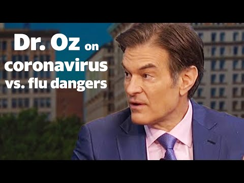 Dr. Oz Talks Coronavirus And Flu Dangers