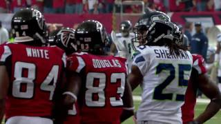 Seahawks vs  Falcons 2012 Divisional Round Highlights