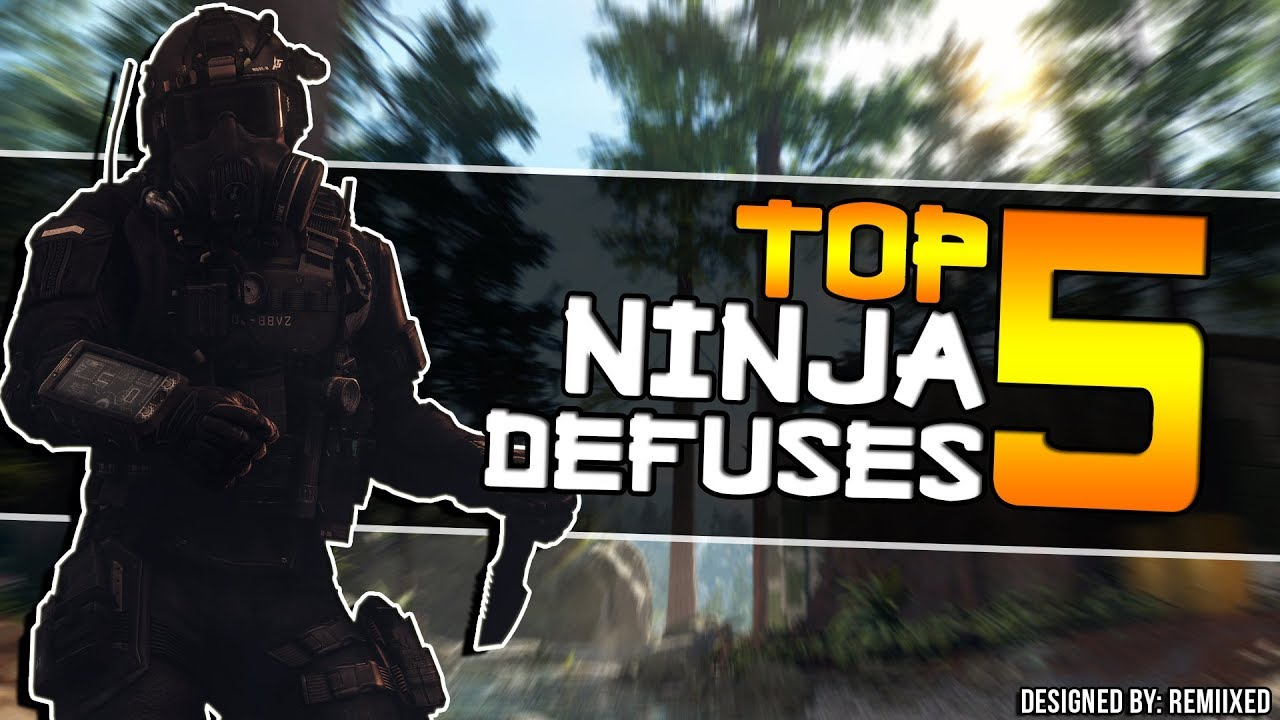The Stupidest Ninja Defuses Ever Seen!