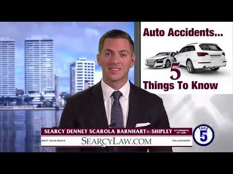 Florida Accident Attorney Explains Top 5 Things to Do After a Car Accident