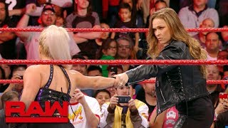 Download Ronda Rousey makes short work of Dana Brooke: Raw Exclusive, March 19, 2018 Mp3 and Videos