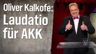 Oliver Kalkofes Laudatio für Annegret Kramp-Karrenbauer