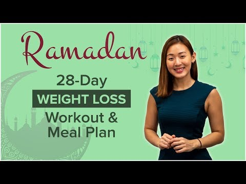 28-Day Ramadan WEIGHT LOSS Workout & Meal Plan | Joanna Soh
