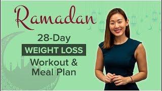 28-Day Ramadan WEIGHT LOSS Workout & Meal Plan   Joanna Soh