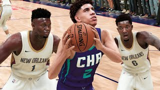 ... first look at nba 2k21 next gen gameplay featuring new o...
