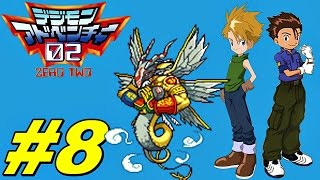 Digimon Adventure 02 D-1Tamers #8 Angel Tower Dungeon!  English Patch
