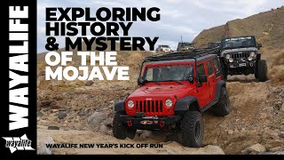 CRUCERO : Overland Exploration of the History & Mysteries of the Mojave Desert in a Jeep