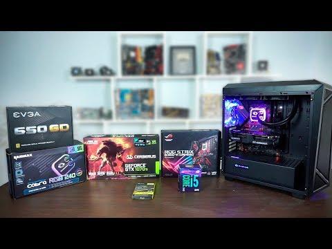 Ensamblando PC Gamer para jugadores exigentes con GTX 1070 Ti y Core i5 8400 | Proto Hw & Tec