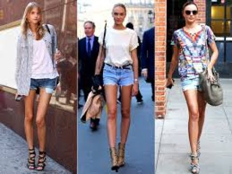 6ebaa4d332 The grown up way to wear jean shorts - YouTube